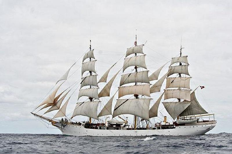 At Sea on the Tall Ship DanMark – Film & Presentation by Jarl Von Arlyon
