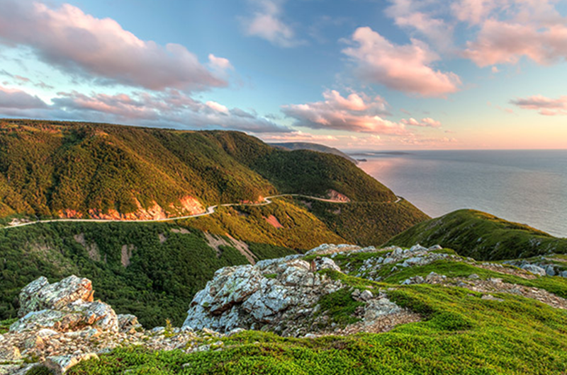 Cabot Trail Run-Cape Breton