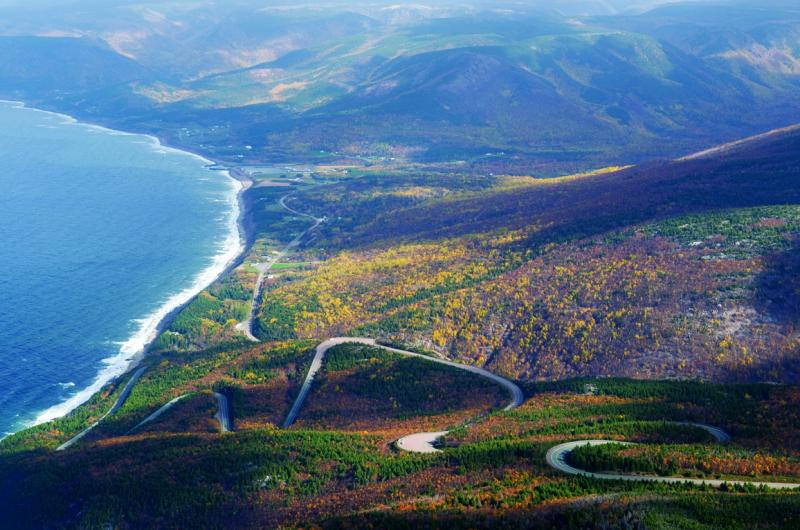 Cabot Trail – From Halifax