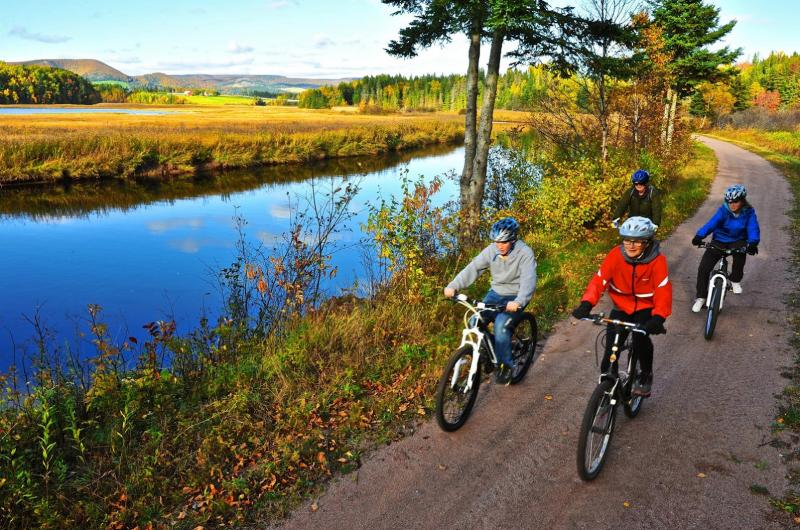 Seacoast Biking for Two on the Celtic Shores Coastal Trail