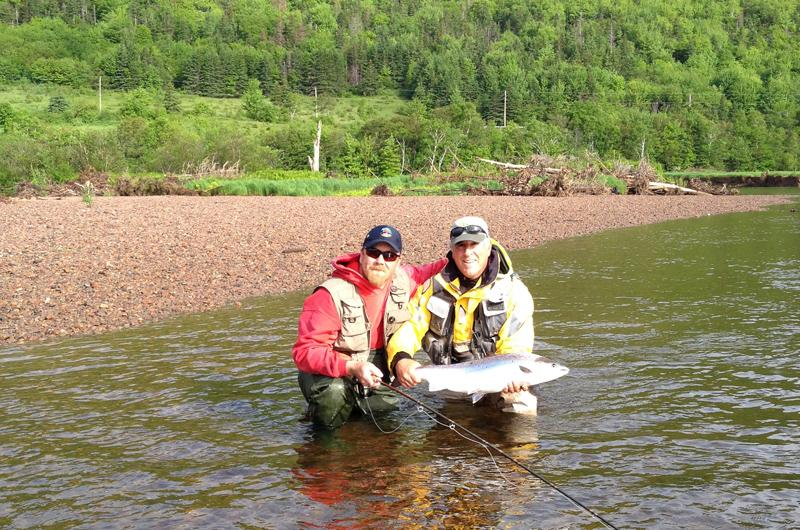 Margaree River Salmon Fishing