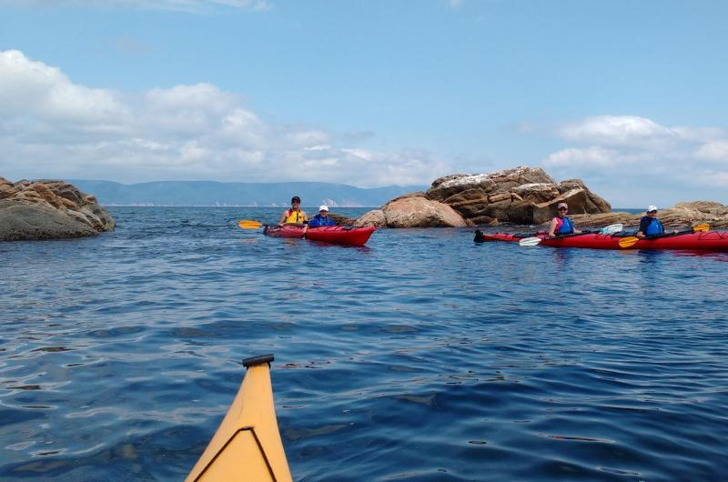 Sea Kayak and Explore with Cabot Trail Adventures and Arts North Pottery