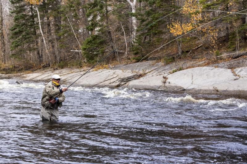 Fly Fishing Guide on the Margaree