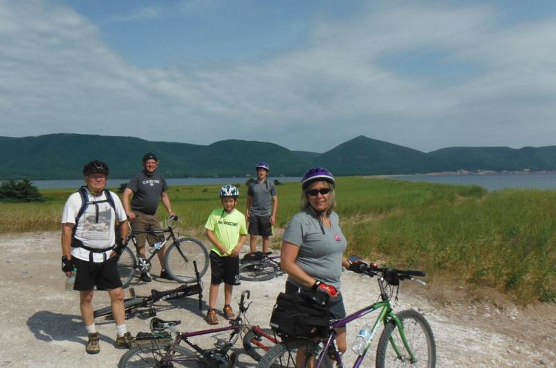Atlantic Fisheries Bike Tour on the Cabot Trail