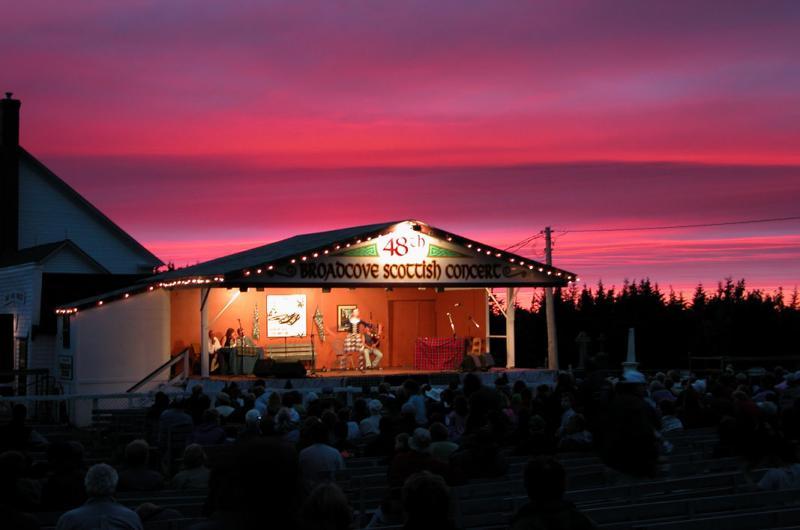 Broad Cove Scottish Concert