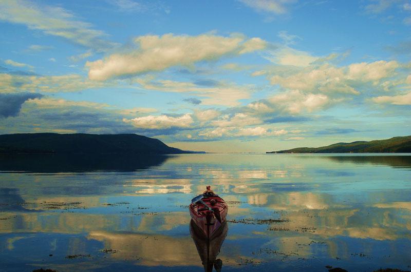 Kayak Cape Breton's Coastline