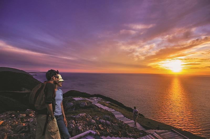 Skyline Sunset Hike Tourism Nova Scotia